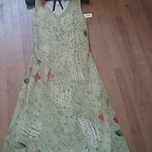 Lapis Maxi length dress, new
